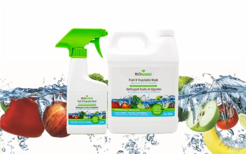BIONANO Fruit & Veggie Wash Starter Pack Perspective: left