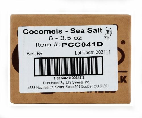Cocomel - Organic Coconut Milk Caramels - Sea Salt - Case of 6 - 3.5 oz. Perspective: left
