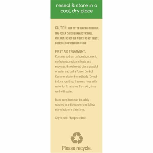 Beyond Natural Dishwasher Tablets - Fragrance & Dye Free - Case of 8 boxes Perspective: left