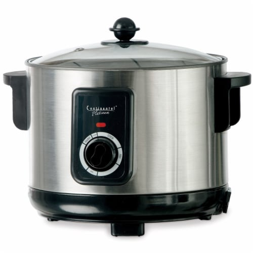 Continental 5 Liter Deep Fryer and Multi Cooker Stainless Steel Perspective: left