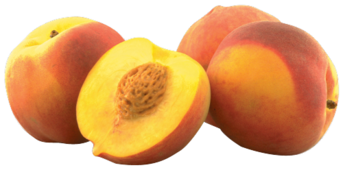 Yellow Peaches Perspective: right