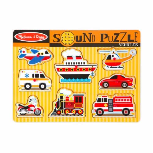 Melissa & Doug® Transportation Puzzle Bundle Perspective: right
