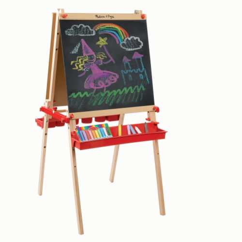 Melissa & Doug® Deluxe Magnetic Art Easel Perspective: right