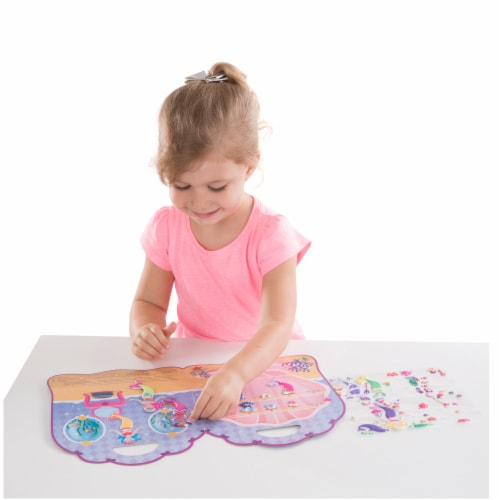 Melissa and Doug® Mermaid Puffy Sticker Play Set Perspective: right