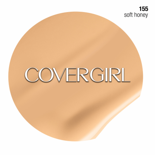 CoverGirl Clean Normal Skin 155 Soft Honey Foundation Perspective: right