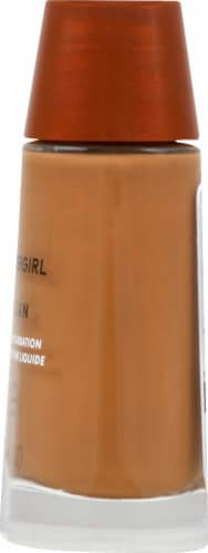 CoverGirl Clean Regular Make-Up Tawny Foundation Perspective: right
