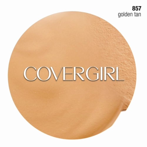 CoverGirl Outlast Stay Fabulous 3-in-1 Golden Tan Liquid Foundation Perspective: right