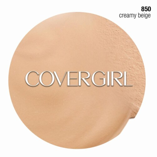 CoverGirl Outlast Stay Fabulous Creamy Beige Foundation Perspective: right