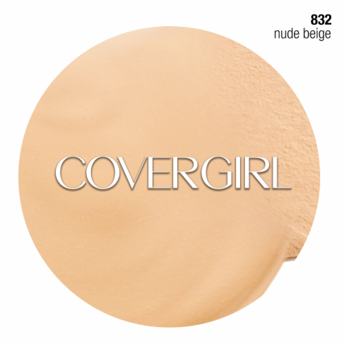 CoverGirl Outlast All Day Stay Fabulous 3-in-1 832 Nude Beige Foundation SPF20 Perspective: right