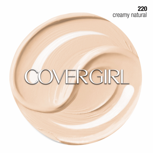 CoverGirl + Olay Simply Ageless 220 Creamy Natural Foundation Powder Perspective: right