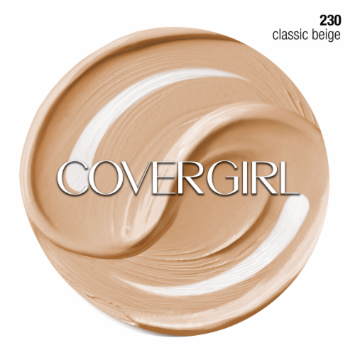 CoverGirl + Olay Simply Ageless Classic Beige 230 Foundation Powder Perspective: right