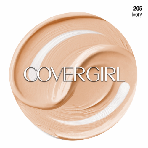 CoverGirl + Olay Simply Ageless 205 Ivory Foundation Powder Perspective: right