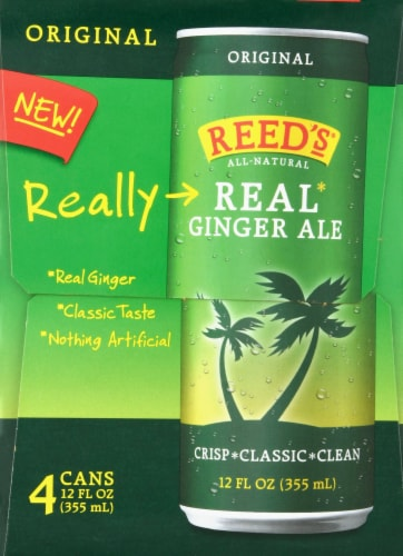 Reed's Original Real Ginger Ale Perspective: right