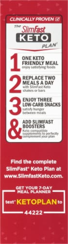 SlimFast Keto Fat Bomb Peanut Butter Cup Snacks Perspective: right