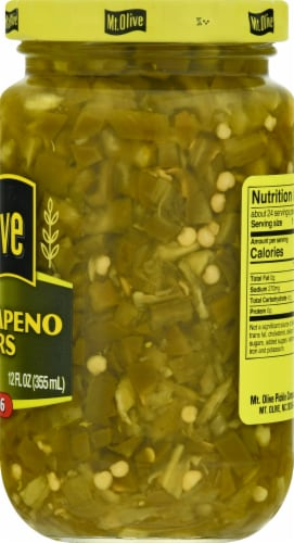 Mt. Olive Diced Jalapeno Peppers Perspective: right