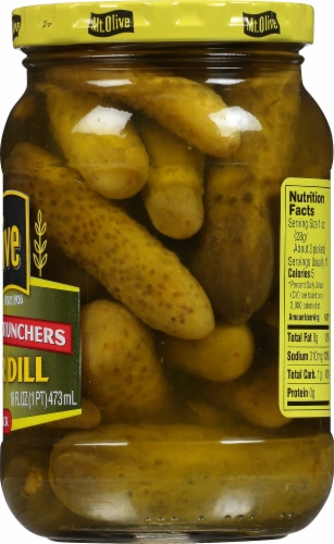 Mt. Olive Petite Snack Crunchers Kosher Dill Pickles Perspective: right