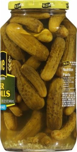 Mt. Olive Kosher Petite Dill Pickles Perspective: right