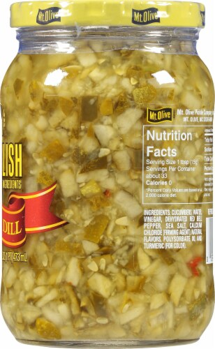 Mt. Olive Simply Relish Deli Style Dill Perspective: right