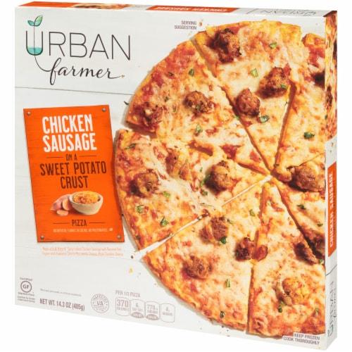 URBAN farmer Sweet Potato Crust Chicken Sausage Frozen Pizza Perspective: right