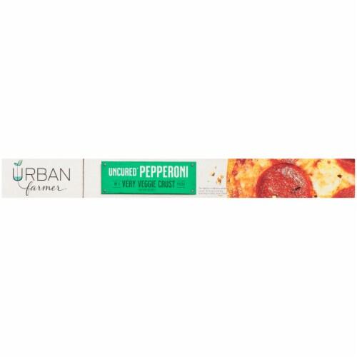 URBAN farmer Uncured Pepperoni Very Veggie Crust Pizza Perspective: right