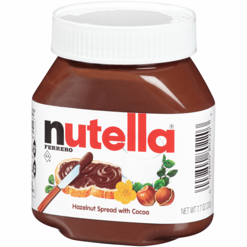 Nutella Hazelnut Spread with Cocoa Perspective: right