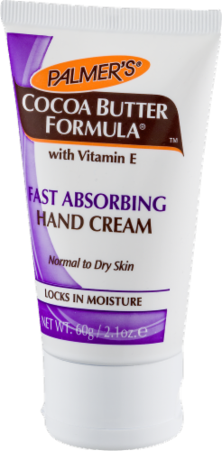 Palmers Cocoa Butter Fast Absorbing Hand Cream 2.1 oz Perspective: right