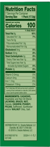 Emerald 100 Calorie Packs Roasted & Salted Cashews Perspective: right