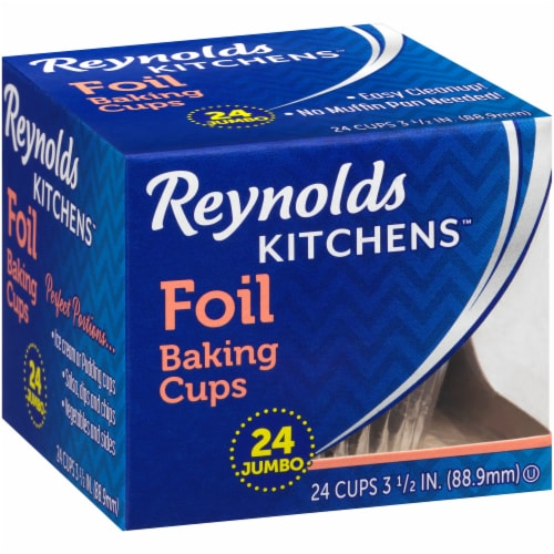 Reynolds Wrap Jumbo Foil Baking Cups Perspective: right