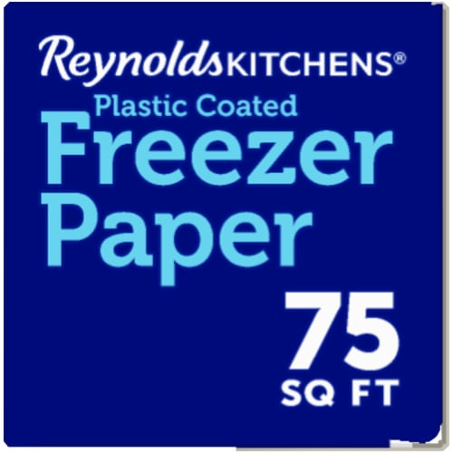 Reynolds Kitchens Plastic Coated Freezer Paper Perspective: right