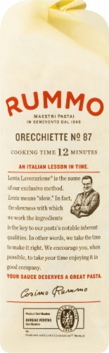 Rummo Orecchiette No. 87 Pasta Perspective: right