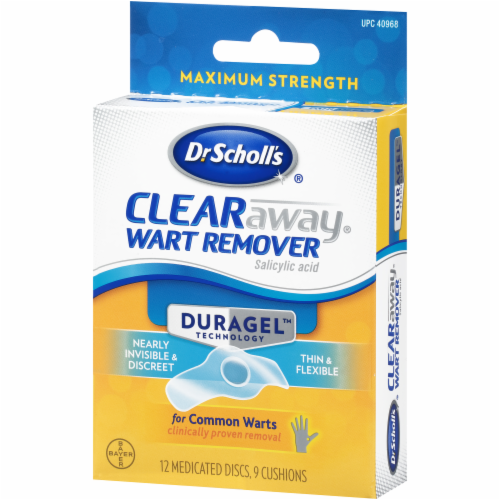 Dr. Scholl's Duragel Clear Away Wart Remover Perspective: right