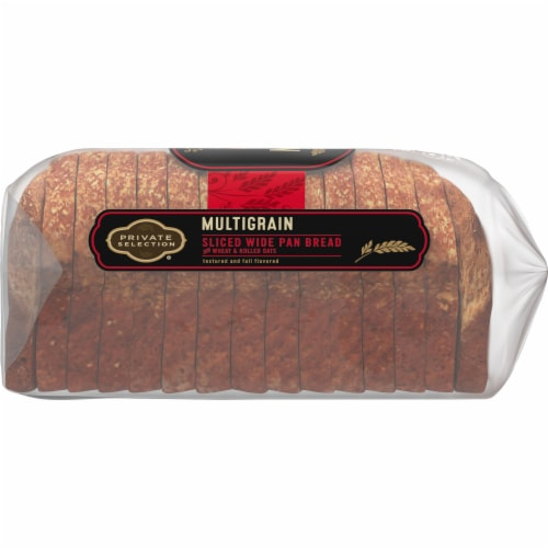 Private Selection® Multigrain Sliced Wide Pan Bread Perspective: right