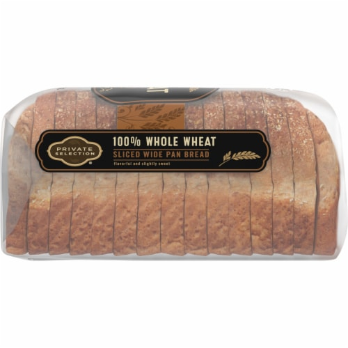Private Selection® 100% Whole Wheat Sliced Wide Pan Bread Perspective: right