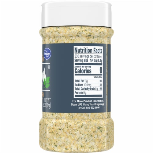 Kroger® California Style Seasoning Blend Garlic Salt Perspective: right