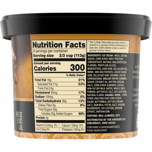 Private Selection® English Toffee Caramel Ice Cream Perspective: right