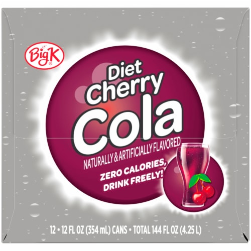 Big K® Diet Cherry Cola Perspective: right