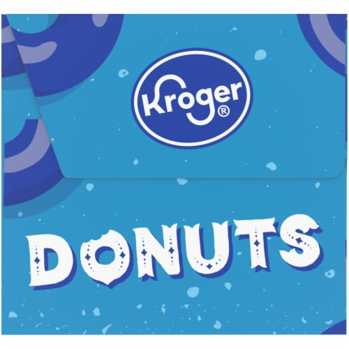 Kroger® Powdered Sugar & Crumb Cake Donuts Perspective: right