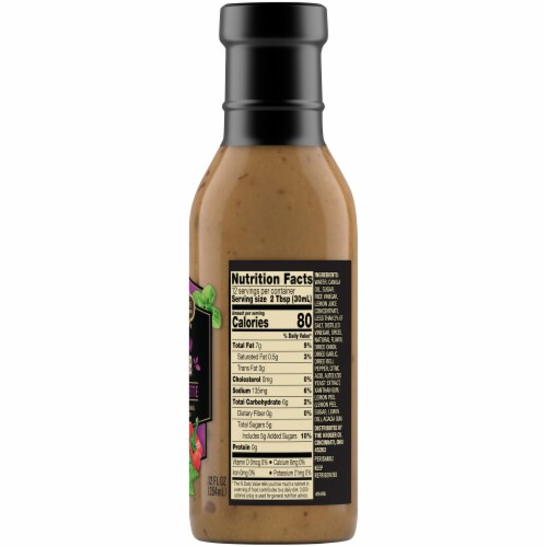 Private Selection® Tuscan Herb Vinaigrette Salad Dressing Perspective: right