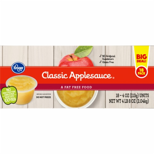 Kroger® Classic Applesauce Cups Perspective: right