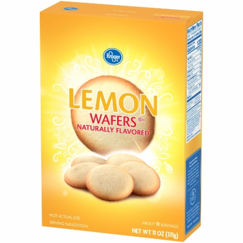 Kroger® Lemon Wafers Perspective: right
