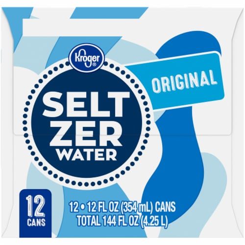 Kroger® Original Caffeine Free Seltzer Water Perspective: right