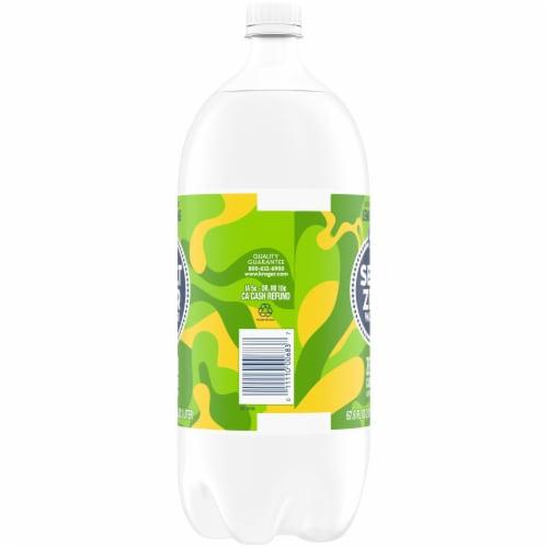 Kroger® Lemon Lime Seltzer Water Perspective: right