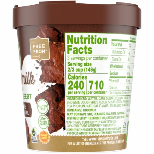 Simple Truth™ Coconut Milk Non-Dairy Frozen Dessert Perspective: right