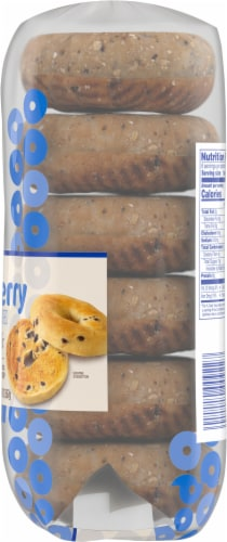 Kroger® Blueberry Bagels Perspective: right