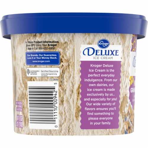 Kroger® Deluxe Honey Graham Cereal Ice Cream Perspective: right