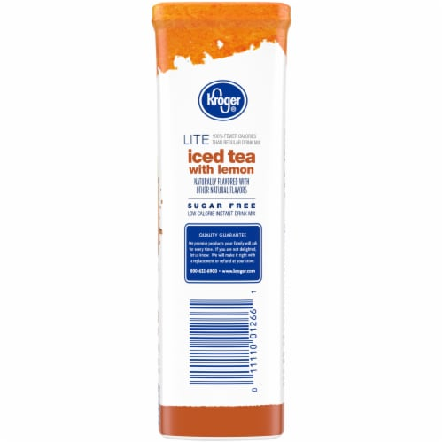 Kroger® Lite Iced Tea with Lemon Instant Drink Mix Perspective: right