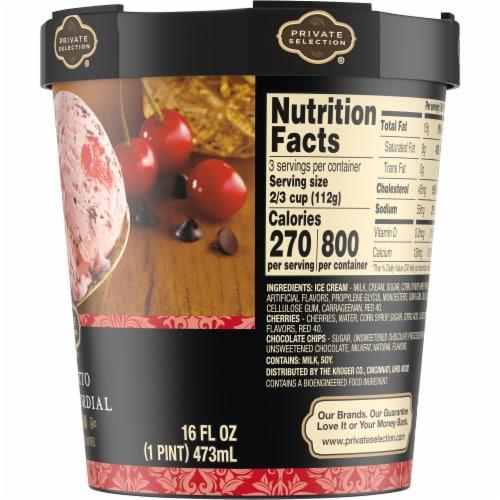Private Selection® Amaretto Cherry Cordial Ice Cream Perspective: right