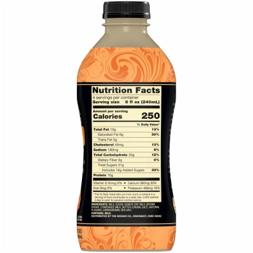 Private Selection™ Primo Pastures Sea Salt Caramel Ultra Pasteurized Milk Perspective: right