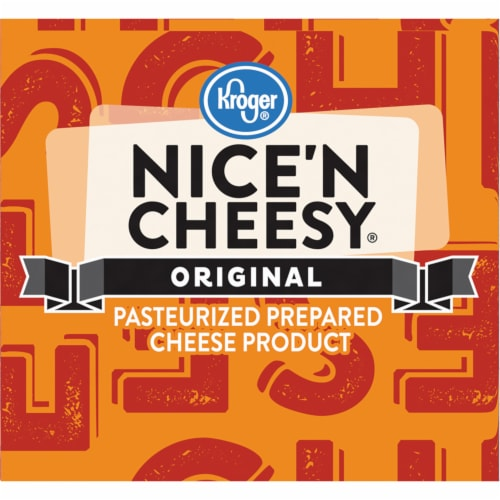 Kroger® Original Nice 'N Cheesy Pasteurized Prepared Cheese Product Perspective: right