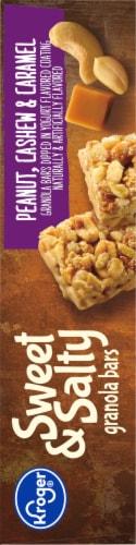 Kroger® Sweet & Salty Peanut Cashew & Caramel Granola Bars Perspective: right